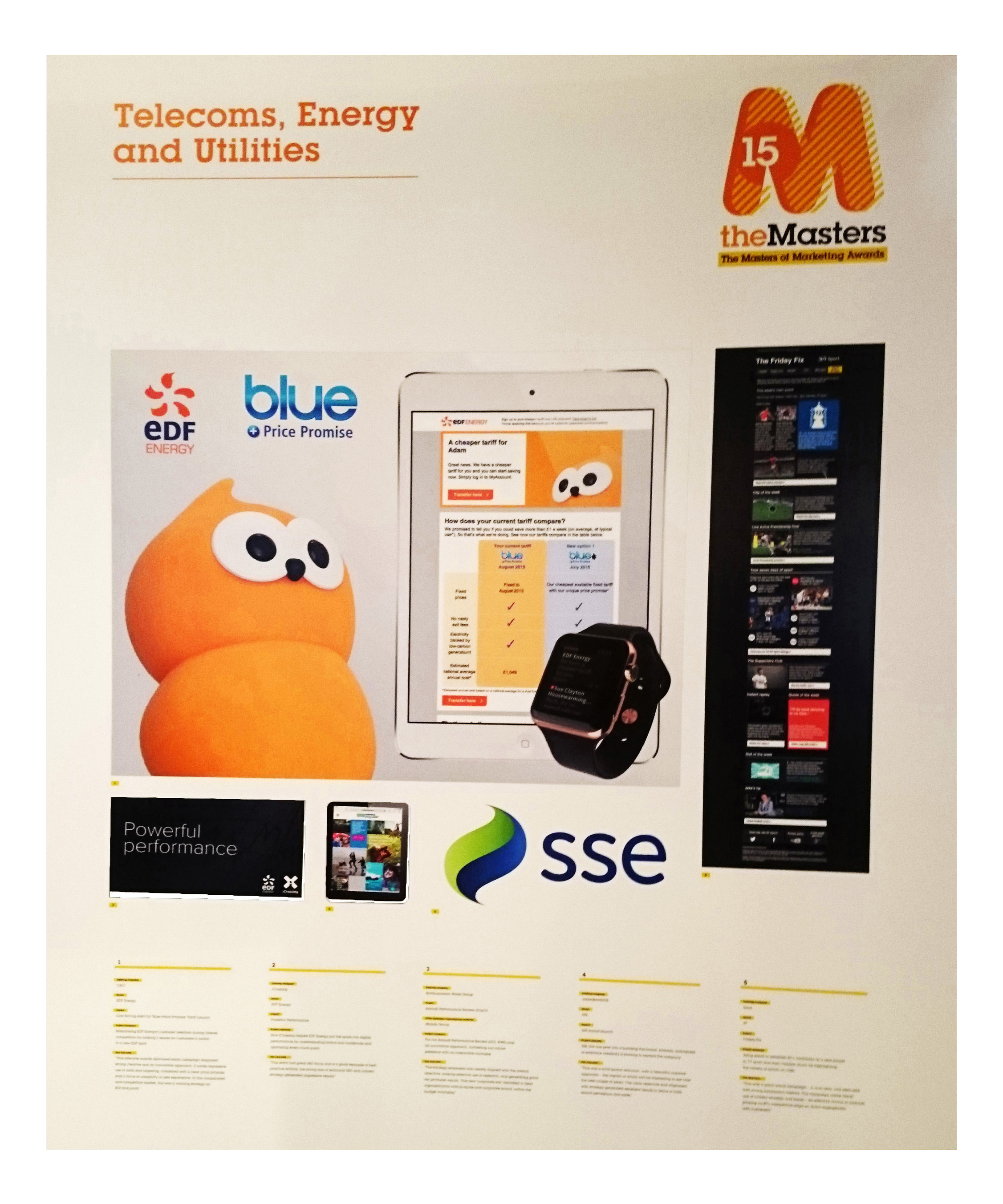 Best Telecoms, Energy & Utilities Campaign