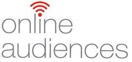 Online audiences logo